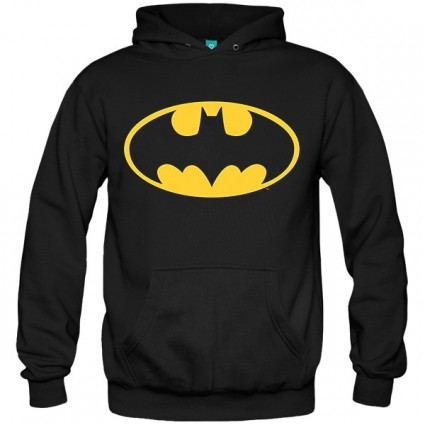 سویشرت هودی Batman Logo Glow In The Dark