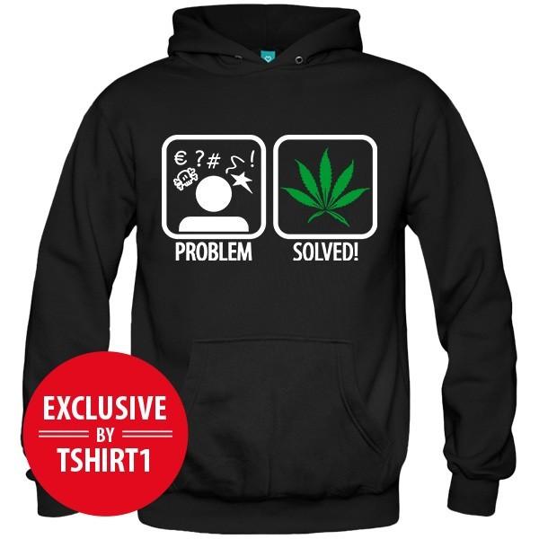 سویشرت Weed Problem Solved