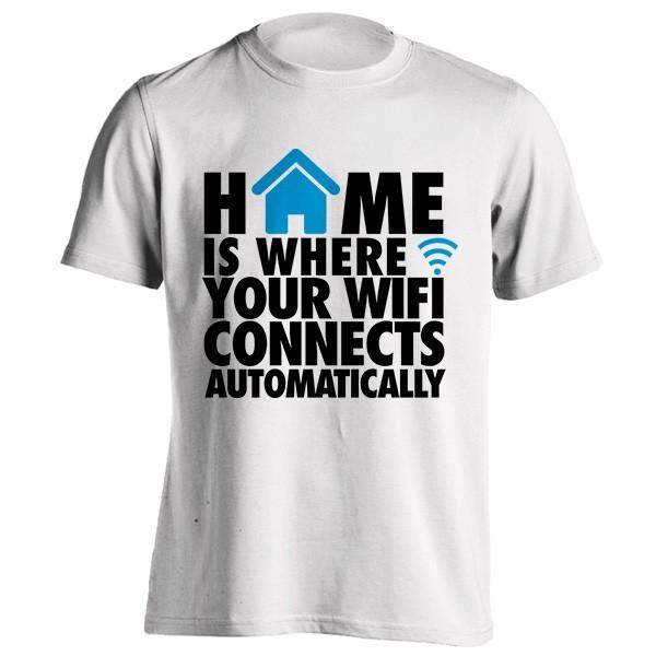 تی شرت Home WIFI