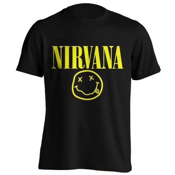 تی شرت نیروانا طرح لوگو