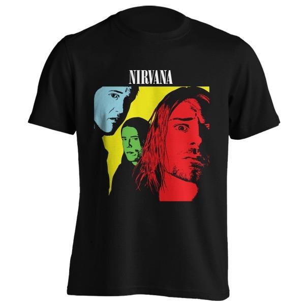 تی شرت گروه نیروانا