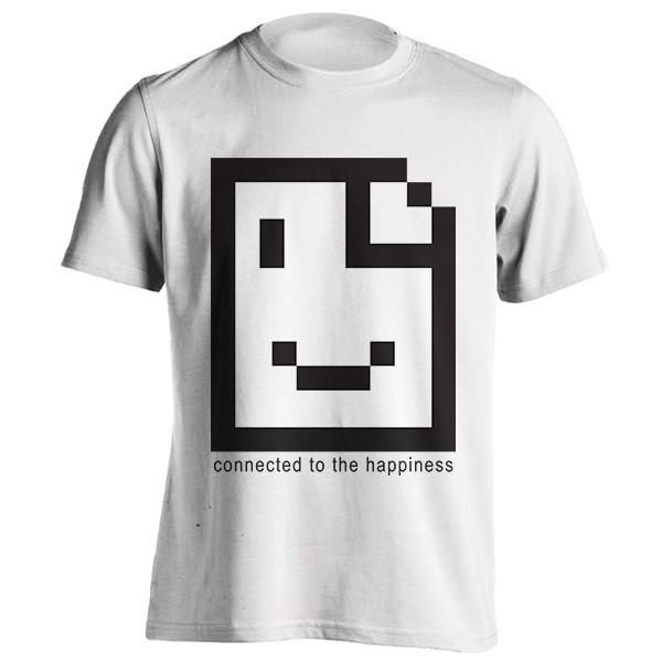 تی شرت connected to the happiness