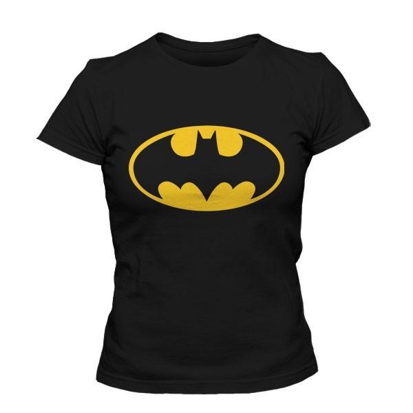 تی شرت دخترانه Batman Logo Glow In The Dark