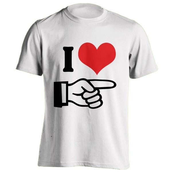 تی شرت I Love Her