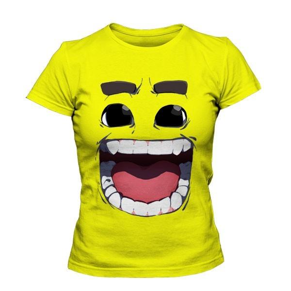 تی شرت دخترانه Happy Face