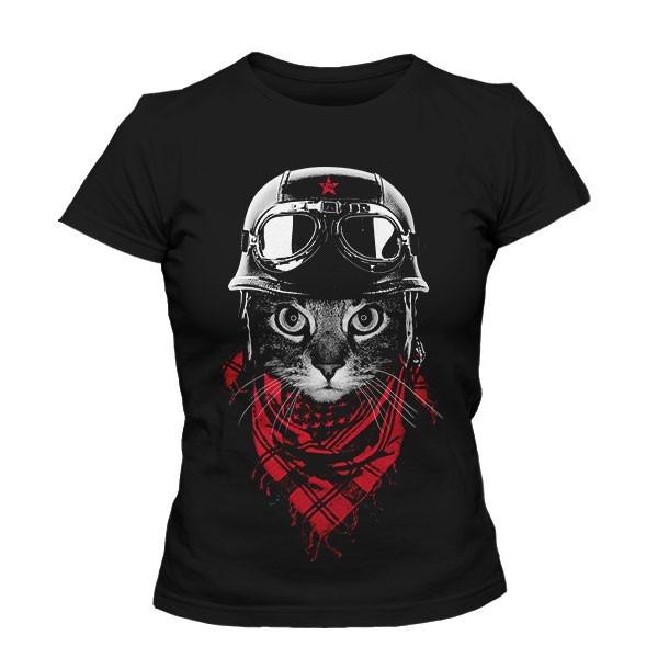 تی شرت دخترانه The Adventurer Cat