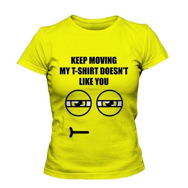 تی شرت دخترانه Eyes Disapproving