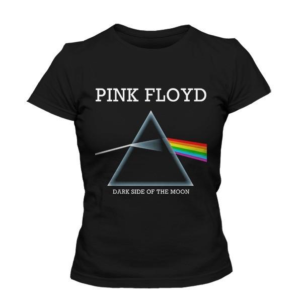 تی شرت دخترانه با طرح پینک فلوید
