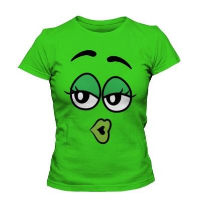 تی شرت دخترانه با طرح M&M's