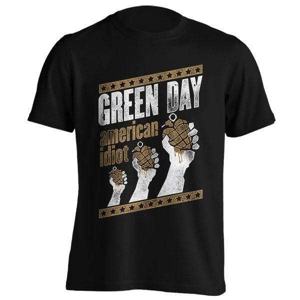 تیشرت گروه Green Day طرح Handout