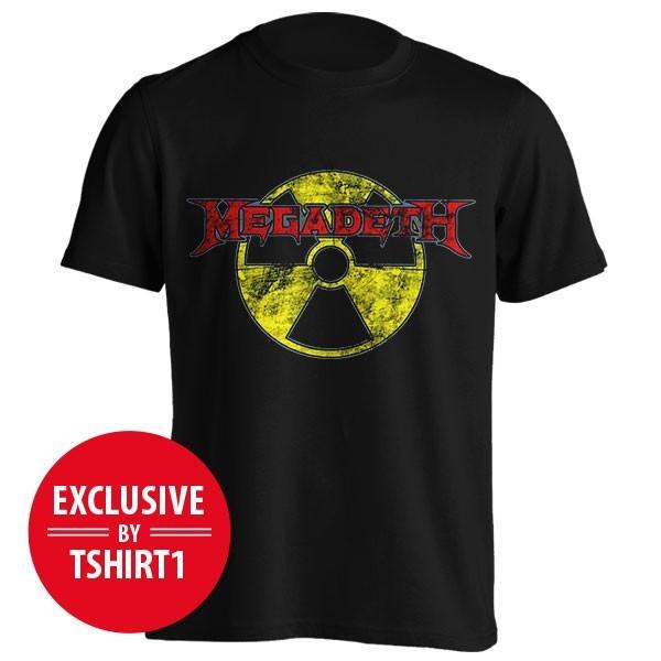 تیشرت گروه Megadeth طرح Radioactive