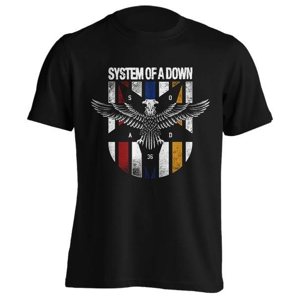 تیشرت System of a Down طرح Eagle Colors