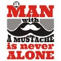 تیشرت A man with a mustache