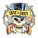 تیشرت Guns N' Roses طرح Distressed Top Hat
