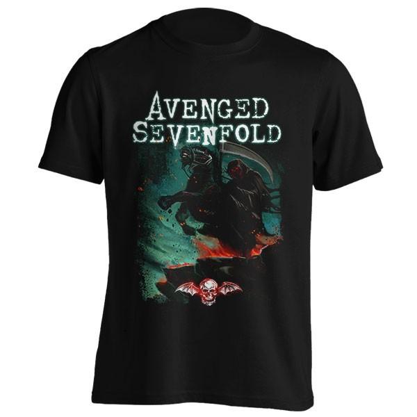 تیشرت Avenged Sevenfold طرح Death Horse