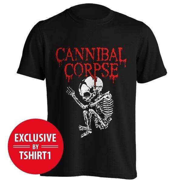 تیشرت بند Cannibal Corpse طرح Foetus