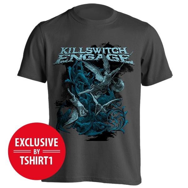 تیشرت Killswitch Engage طرح Battle
