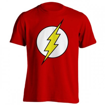 تیشرت Justice League طرح Flash Logo
