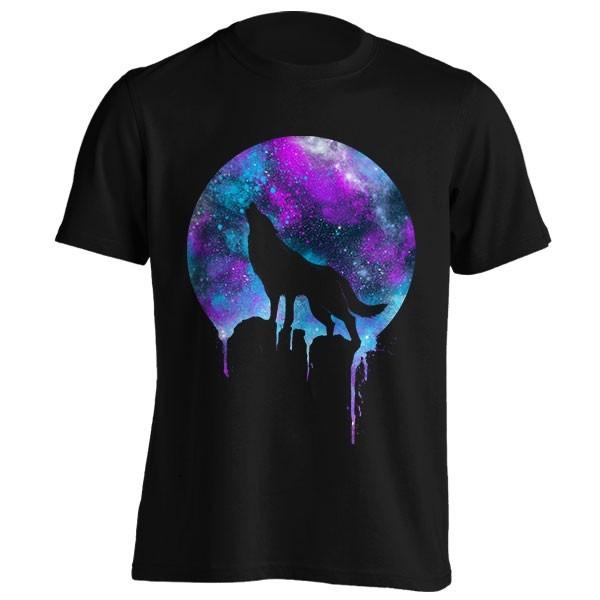 تیشرت Wolf in Space