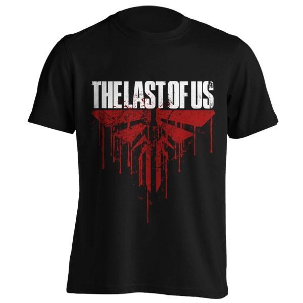 تیشرت The last of us طرح BLOOD