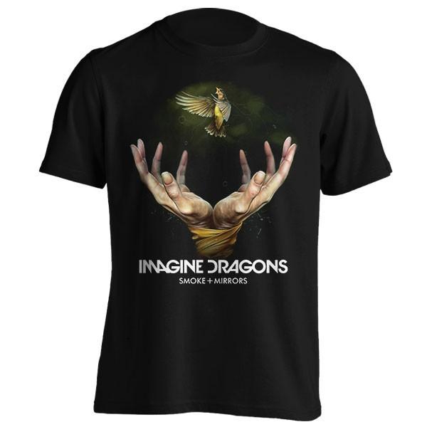 تیشرت Imagine Dragons طرح Smoke + Mirrrors