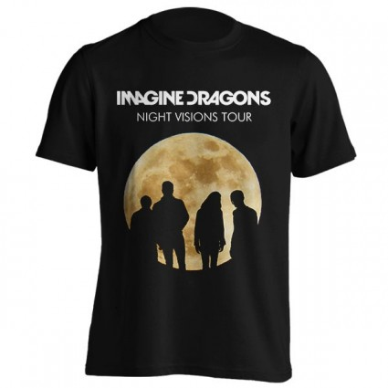 تیشرت Imagine Dragons طرح Night Visions