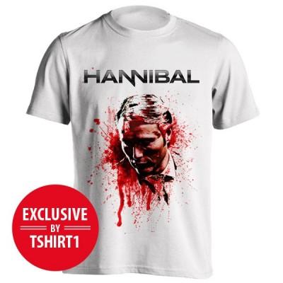 تیشرت Hannibal طرح Blood