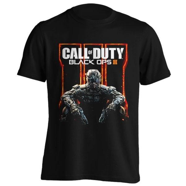 تیشرت Call of Duty طرح Black Ops 3