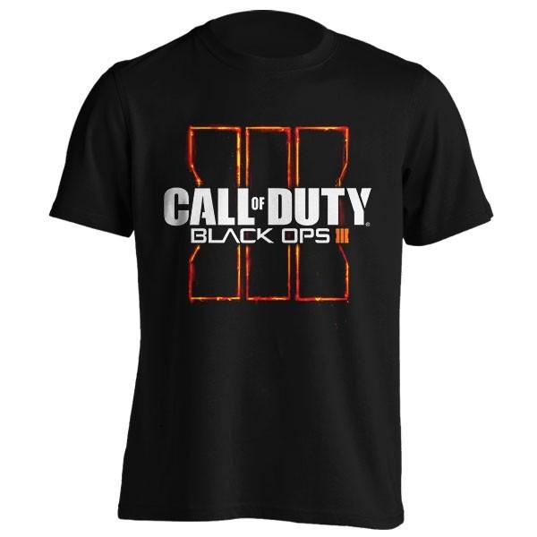 تیشرت بازی Call of Duty طرح Black Ops III