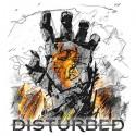 تیشرت گروه Disturbed طرح Smolder