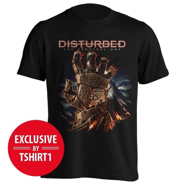 تیشرت گروه Disturbed طرح Resurrect