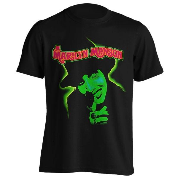 تی شرت Marilyn Manson طرح Smells Like Children