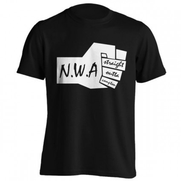 تیشرت NWA طرح Straight Outta Compton