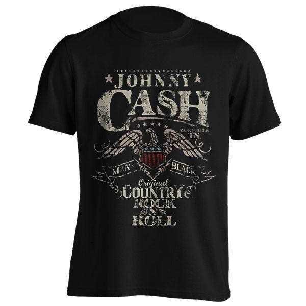 تیشرت Johnny Cash طرح Rock N Roll
