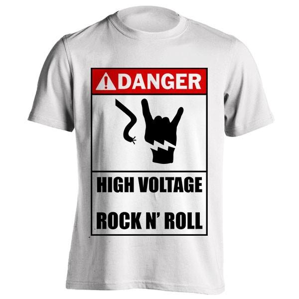 تیشرت High Voltage Rock N' Roll