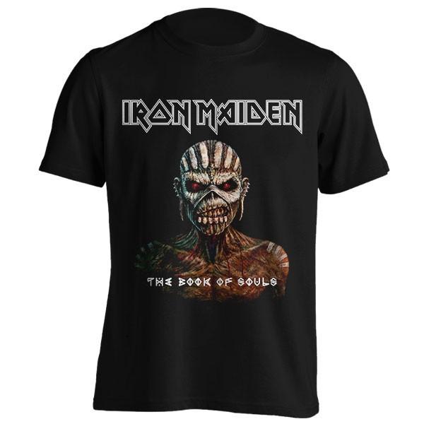 تیشرت Iron Maiden طرح Book of Souls