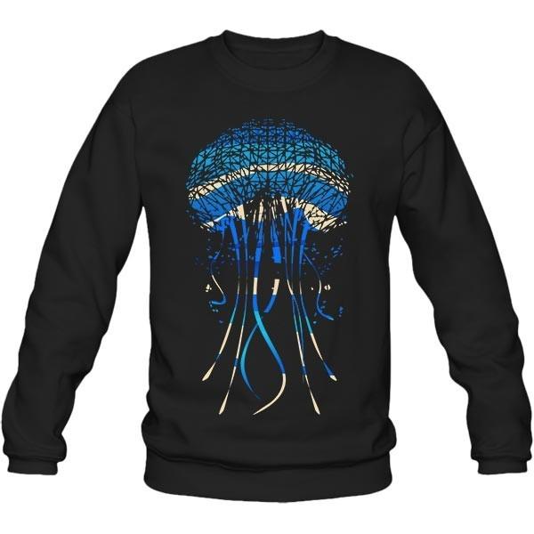سویشرت یقه گرد Jellyfish