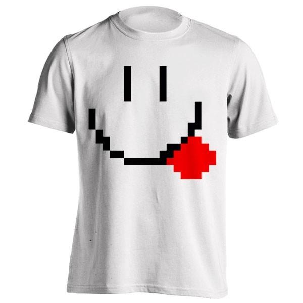 تیشرت Pixel smiley face
