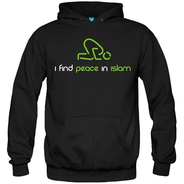 سویشرت هودی I find peace in islam