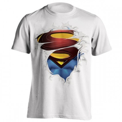 تیشرت Superman ripped