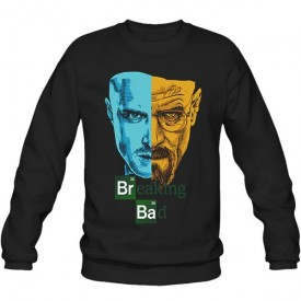 سویشرت یقه گرد Breaking Bad - Jesse & Walter