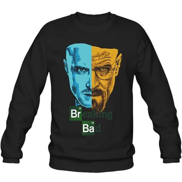 سویشرت یقه گرد Breaking Bad - Jesse & Walter