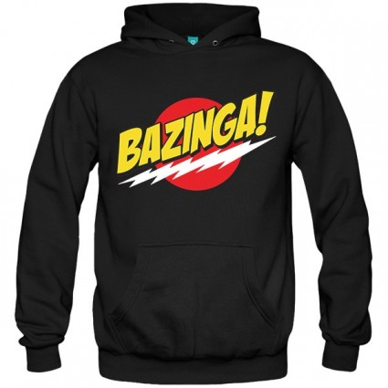 سویشرت هودی BIG BANG THEORY BAZINGA