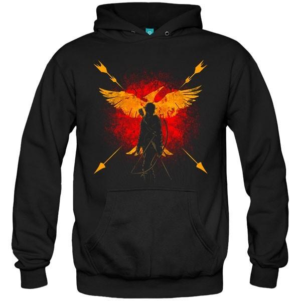 سویشرت هودی Phoenix and fire