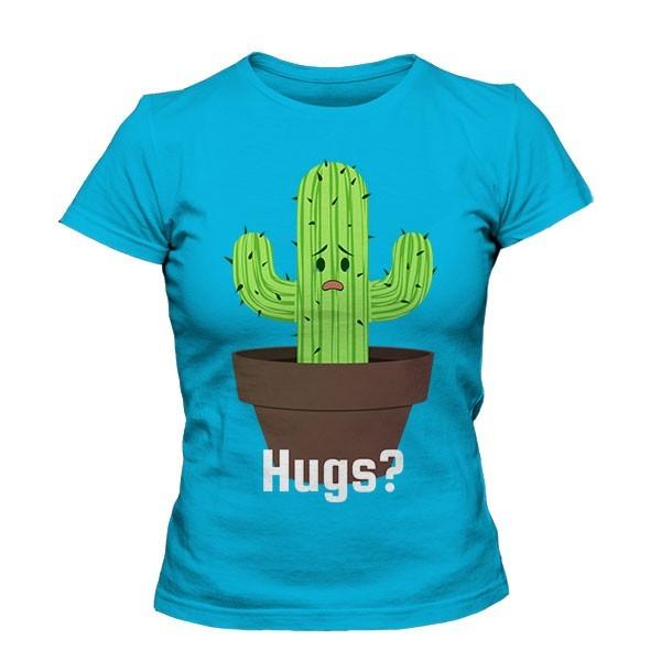 تیشرت دخترانه Cactus Hugs