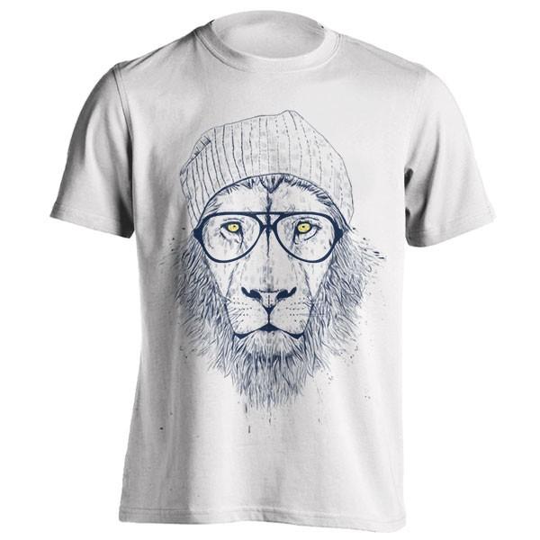 تیشرت طرح Cool lion