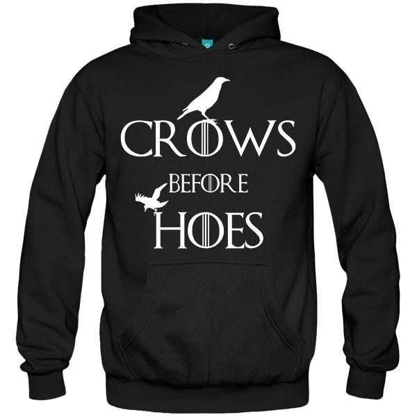سویشرت هودی Crows Before Hoes