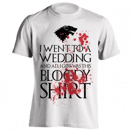 تیشرت Stooble Men's Red Wedding