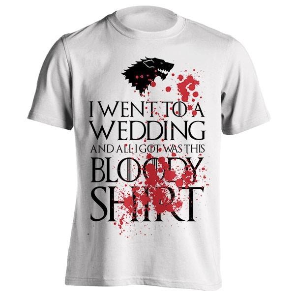 تیشرت Stooble Men's Red Wedding