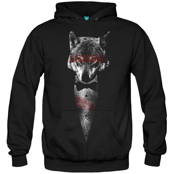 سویشرت هودی Wolf of Bangstry
